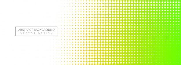 Abstracte halftone kleurrijke bannerachtergrond
