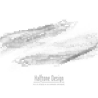 Abstracte halftone ontwerpachtergrond