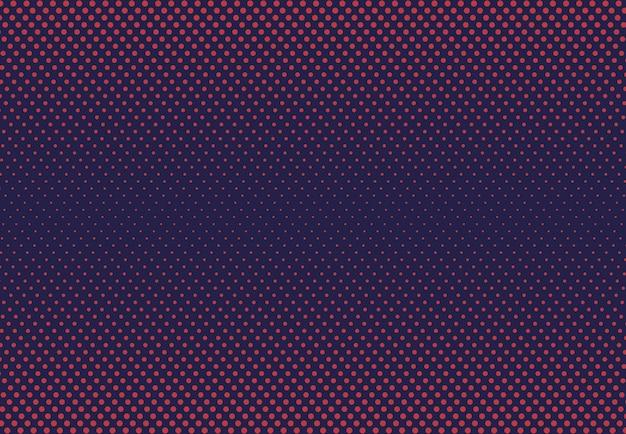Abstracte halftone punt van de achtergrond van het het patroonkunstwerk van contrasttechnologie.