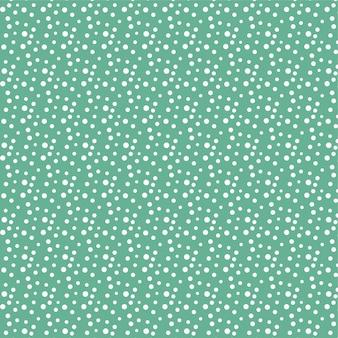 Abstracte hand getrokken polka dot naadloze patroon ontwerp wallpaper achtergrond
