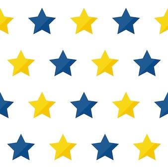 Abstracte handgemaakte ster naadloze patroon achtergrond. handgetekende omslag voor ontwerpcadeaubon, verjaardagsbehang, album, plakboek, vakantie-inpakpapier, tasafdruk, t-shirt, babyluier enz.