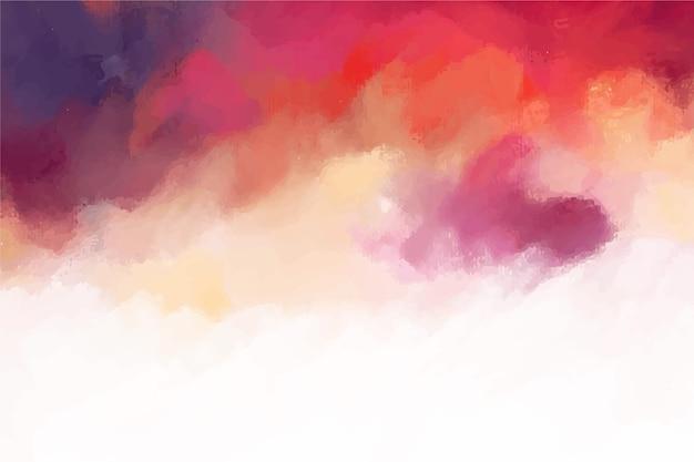 Abstracte handgeschilderde achtergrond