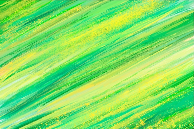 Abstracte handgeschilderde groene achtergrond