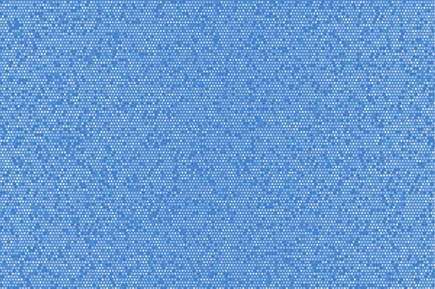 Abstracte heldere blauwe glinsterende gestippelde achtergrond