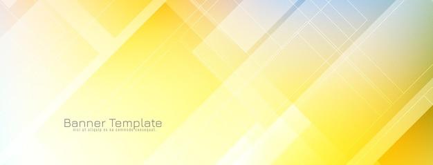Abstracte heldere kleurrijke banner