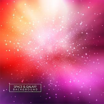 Abstracte heldere sterrenstelsel universum achtergrond