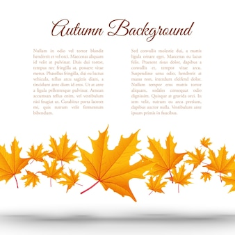 Abstracte herfst achtergrond