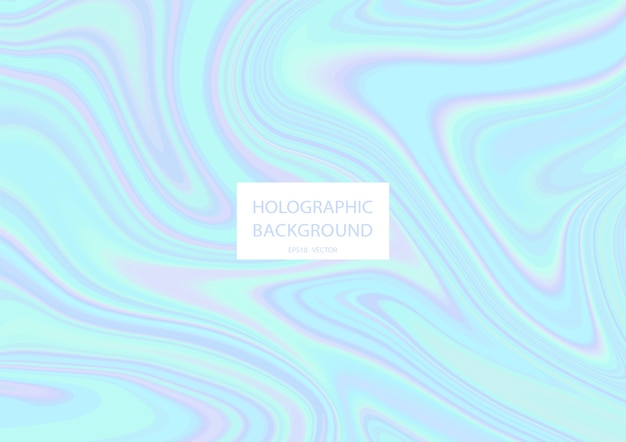 Abstracte holografische achtergrond met pastelkleuren. .