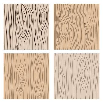 Abstracte houten lijn naadloze texturen. herhalende houten decoratie