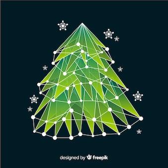 Abstracte kerstboom