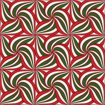 Abstracte kerstmis naadloze patroon. hand getekende feestelijke sieraad voor achtergrond, behang, stof, textuur, inpakpapier ontwerp en decoratie. premium vector