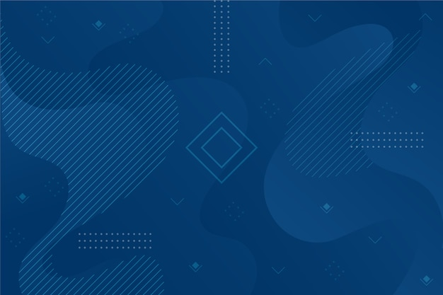Abstracte klassieke blauwe achtergrond met geometrische vorm