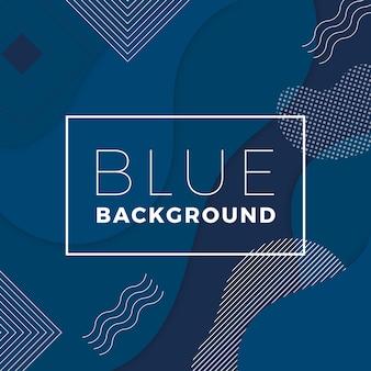 Abstracte klassieke blauwe achtergrond