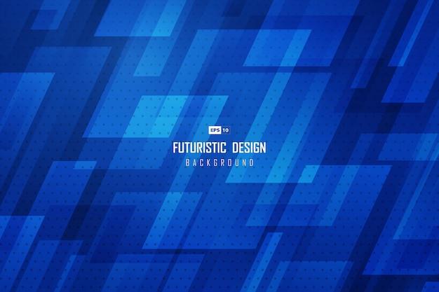 Abstracte kleurovergang technologie blauwe achtergrond