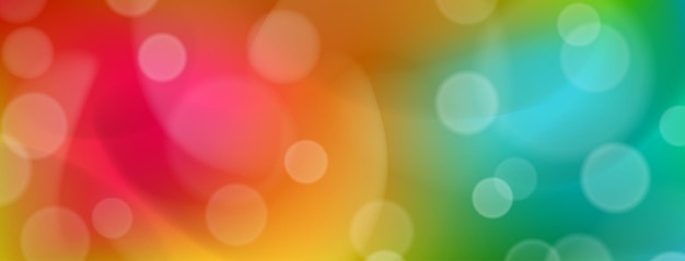 Abstracte kleurrijke achtergrond met bokeh-effecten