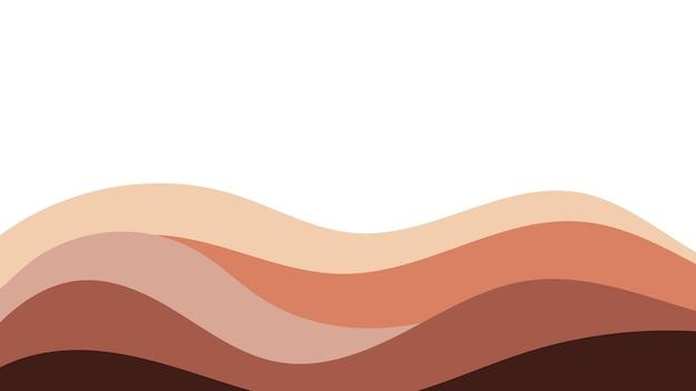 Abstracte kleurrijke achtergrond van kleur golven. sjabloon voor flyer, omslag of banner