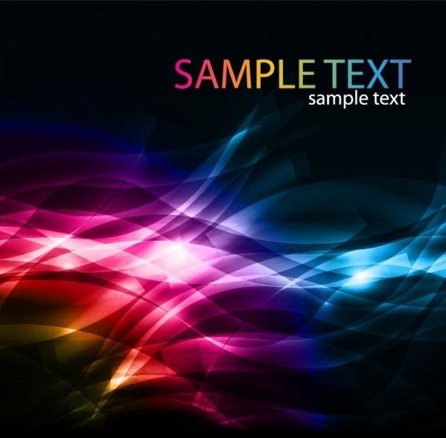 Abstracte kleurrijke achtergrond vectorillustraties