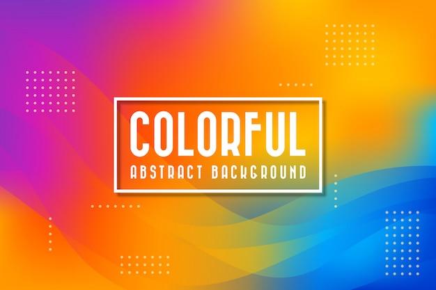 Abstracte kleurrijke achtergrond