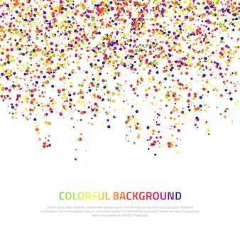 Abstracte kleurrijke achtergrond.