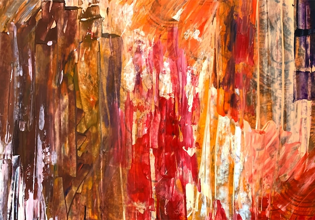 Abstracte kleurrijke aquarel textuur
