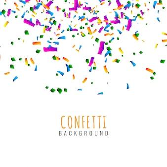 Abstracte kleurrijke confetti viering achtergrond