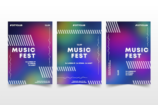Abstracte kleurrijke cover collectie sjabloonontwerp