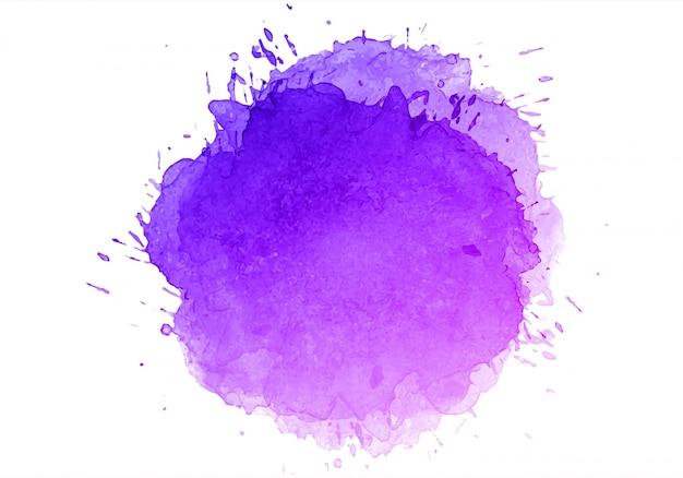 Abstracte kleurrijke de textuurachtergrond van de waterverfplons