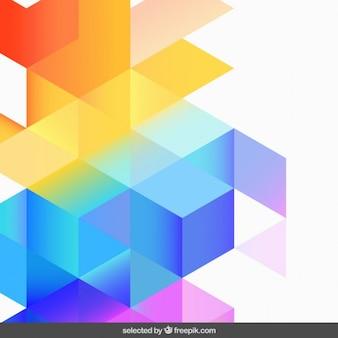 Abstracte kleurrijke gedegradeerde achtergrond
