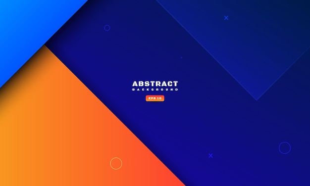 Abstracte kleurrijke geometrische achtergrond met diepe schaduw en textuur