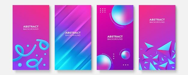 Abstracte kleurrijke geometrische achtergrond