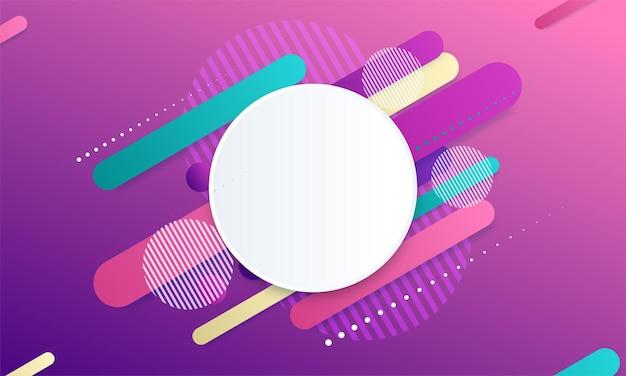 Abstracte kleurrijke geometrische isometrische achtergrond