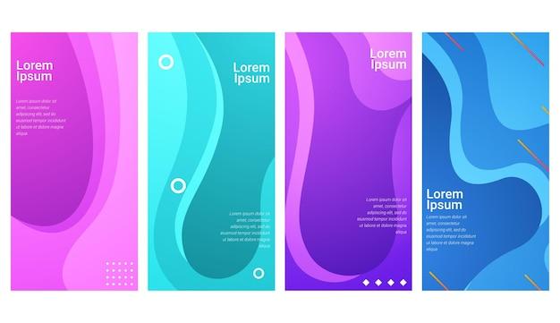 Abstracte kleurrijke geometrische reeks als achtergrond