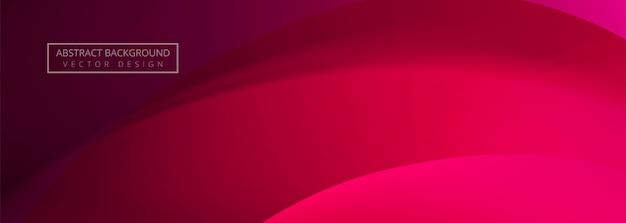 Abstracte kleurrijke golf banner achtergrond