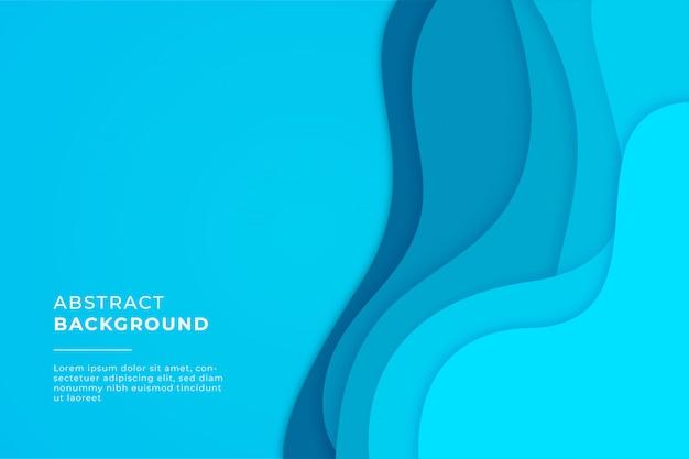 Abstracte kleurrijke golvende vorm achtergrond