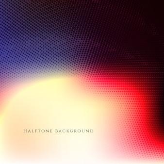 Abstracte kleurrijke halftone achtergrond