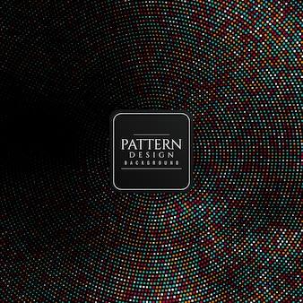 Abstracte kleurrijke halftone patroonachtergrond