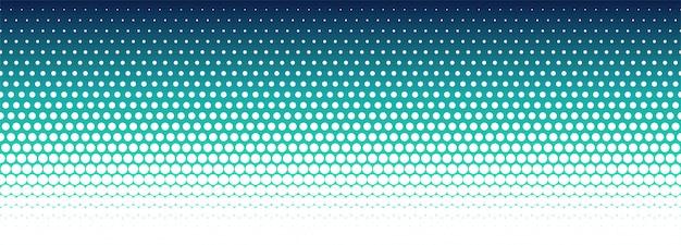 Abstracte kleurrijke halftone patroonbanner