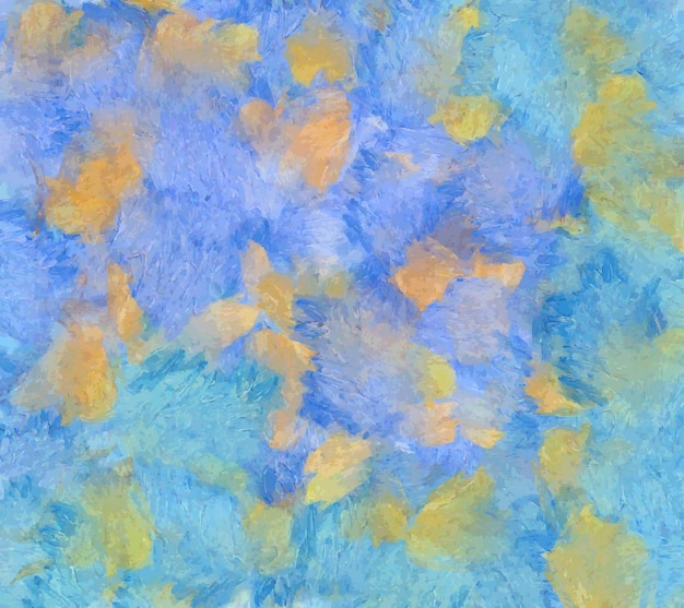 Abstracte kleurrijke hand getrokken achtergrond. olieverf op doek
