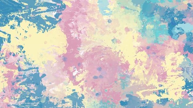 Abstracte kleurrijke handgeschilderde aquarel achtergrond