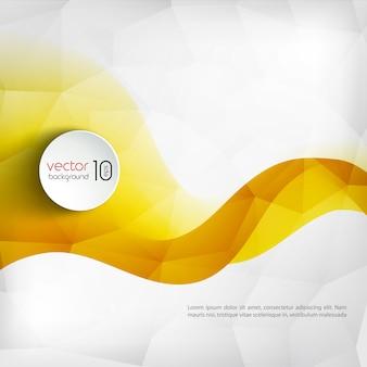 Abstracte kleurrijke lijn achtergrond Premium Vector