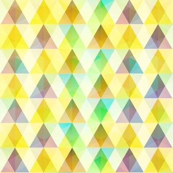Abstracte kleurrijke mozaïek sjabloon