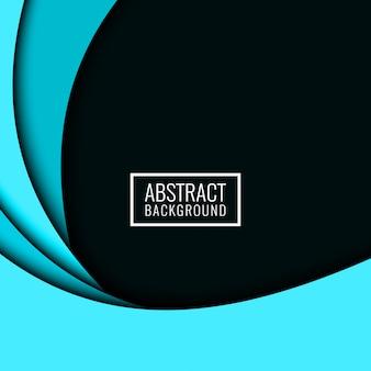 Abstracte kleurrijke papercut moderne achtergrond
