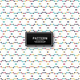Abstracte kleurrijke stippen patroon achtergrond