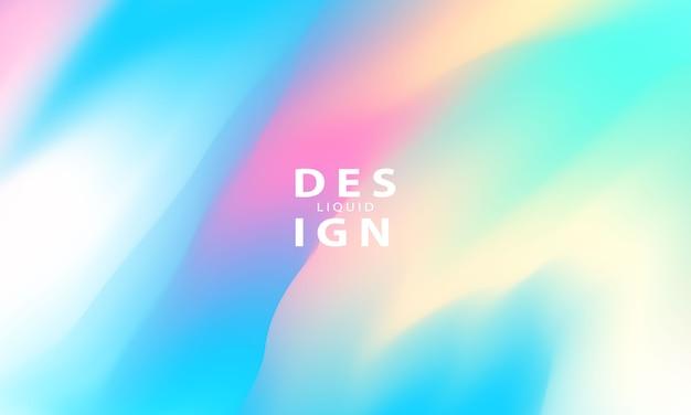 Abstracte kleurrijke vloeibare achtergrond met kleurovergang ecologie concept voor uw grafisch ontwerp,