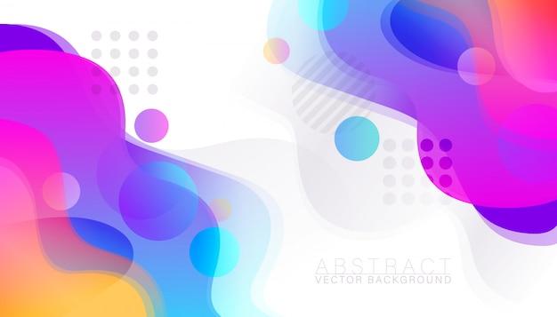 Abstracte kleurrijke vloeiende achtergrond