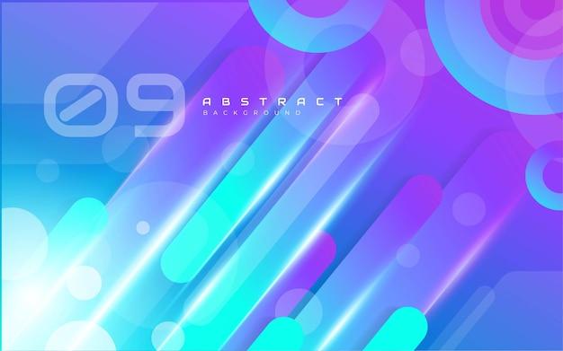 Abstracte kleurrijke vormen achtergrond