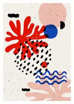 Abstracte kunst vector poster