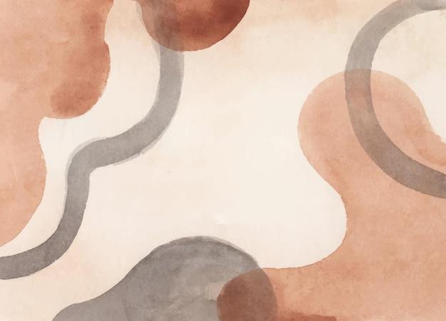 Abstracte kunstachtergrond met elementen van de waterverfvlek