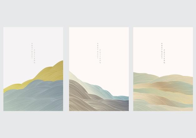 Abstracte landschapscollectie