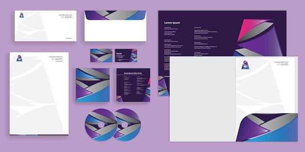 Abstracte letter a logo moderne zakelijke identiteit stationair
